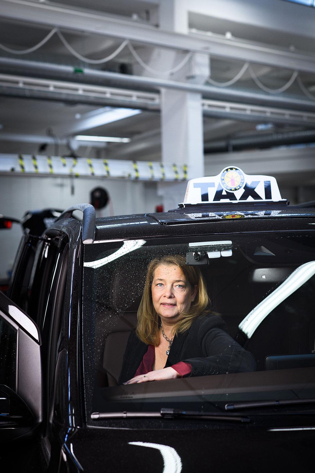 Johanna Löttiger, Taxiutrustning